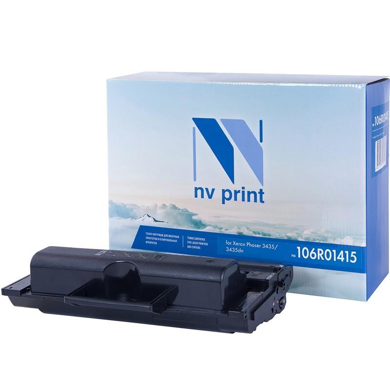 Картридж NVP совместимый NV-106R01415 для Xerox Phaser 3435 Черный (Black) 10000стр.