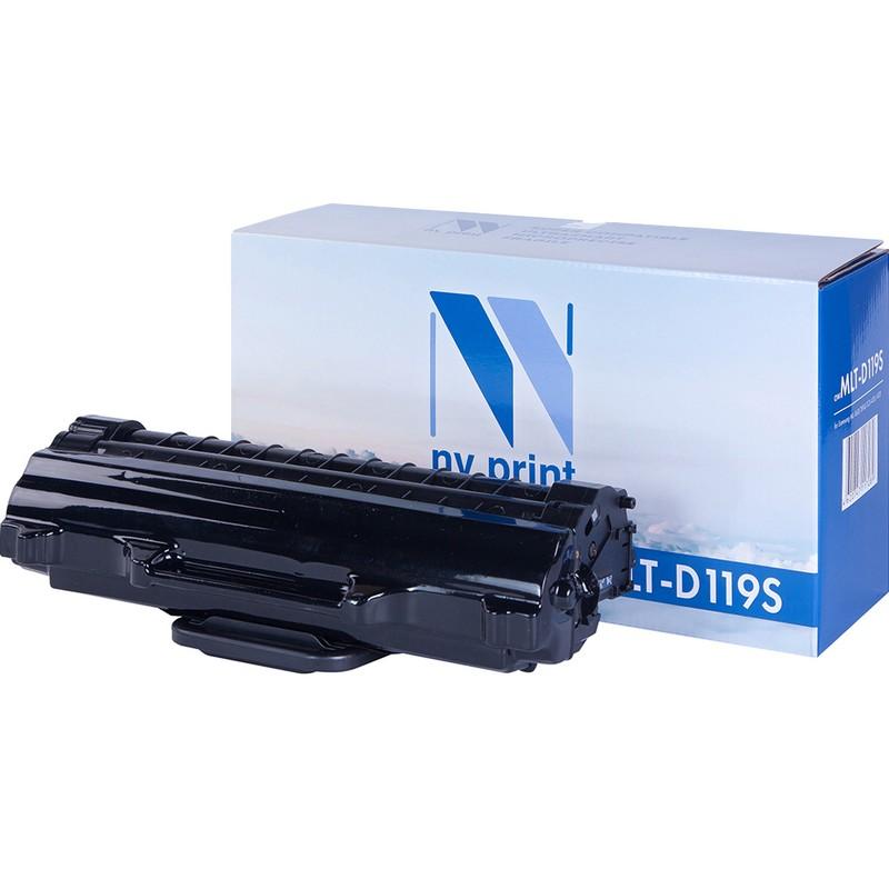 Картридж NVP совместимый NV-MLT-D119S для Samsung ML-1610   2010   SCX-4321   4521 Черный (Black) 2000стр.
