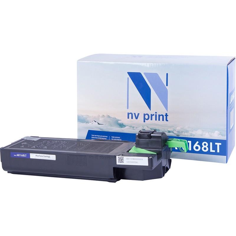 Картридж NVP совместимый NV-AR168LT для Sharp 122   152   153   5012   5415   M150   M155 Черный (Black) 6000стр.