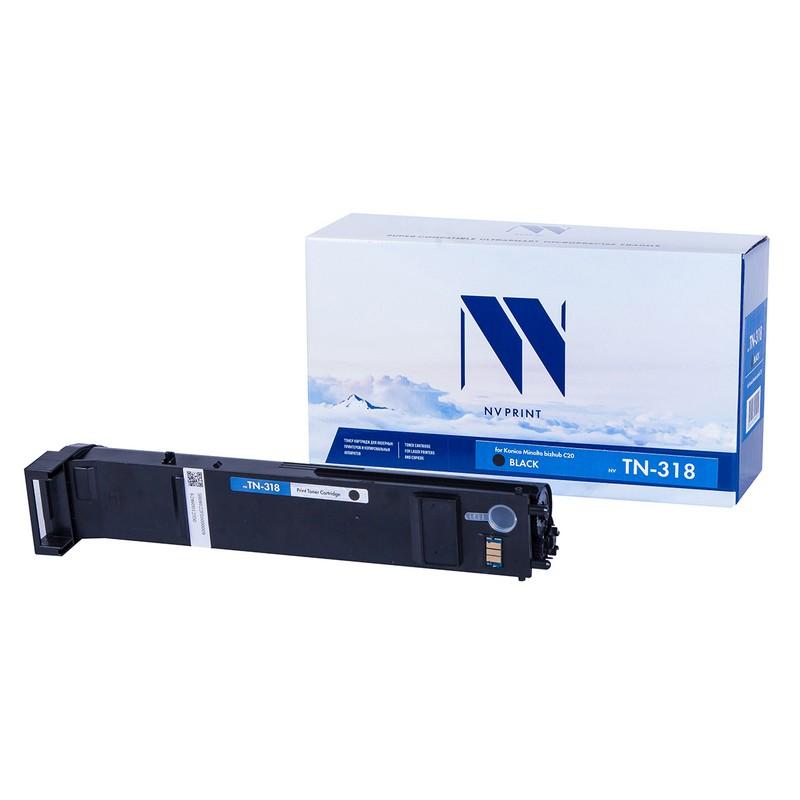 Тонер-картридж NVP совместимый NV-TN-318 Black для Konica Minolta bizhub C20 Черный (Black) 8000стр.