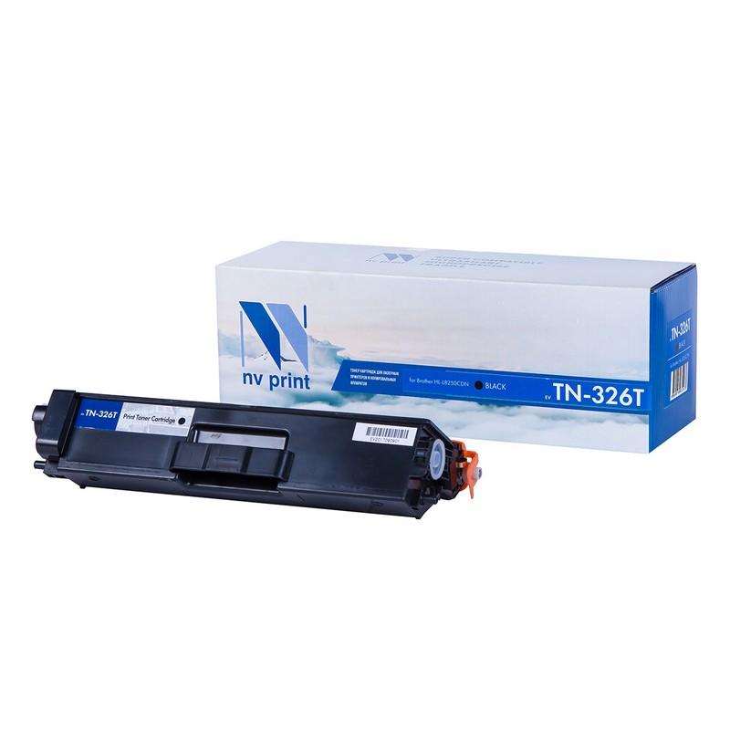 Картридж NVP совместимый NV-TN-326T Black для Brother HL-L8250CDN Черный (Black) 4000стр.