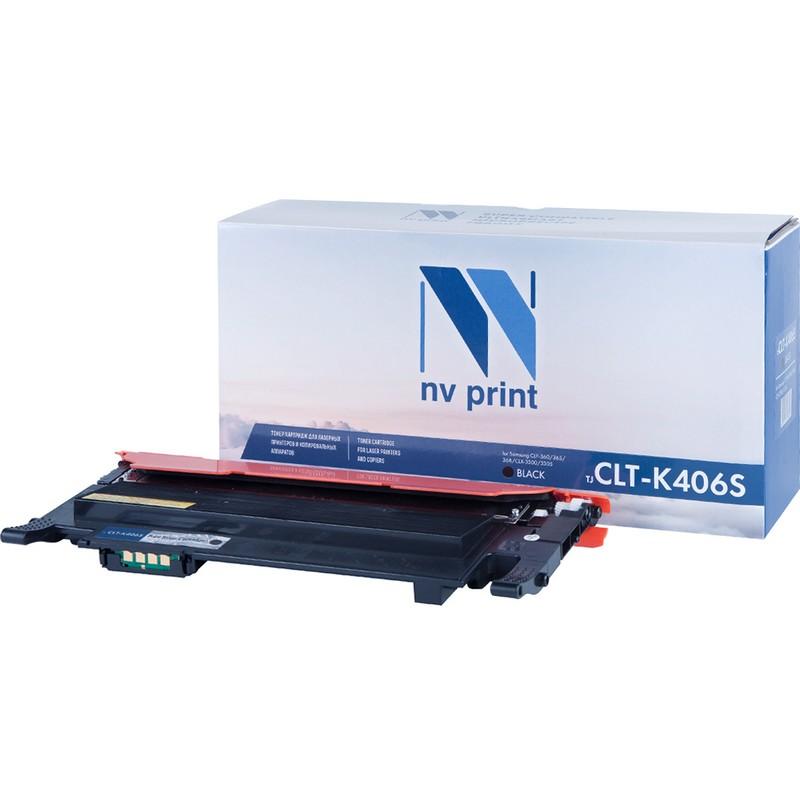 Картридж NVP совместимый NV-CLT-K406S Black для Samsung CLP-360 | 365 | 368 | CLX-3300 | 3305 Черный (Black) 1500стр.