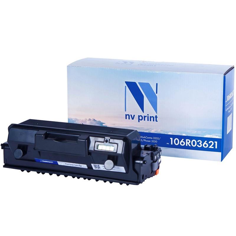 Тонер-картридж NVP совместимый NV-106R03621 для Xerox WorkCentre 3335   3345   Phaser 3330 Черный (Black) 8500стр.