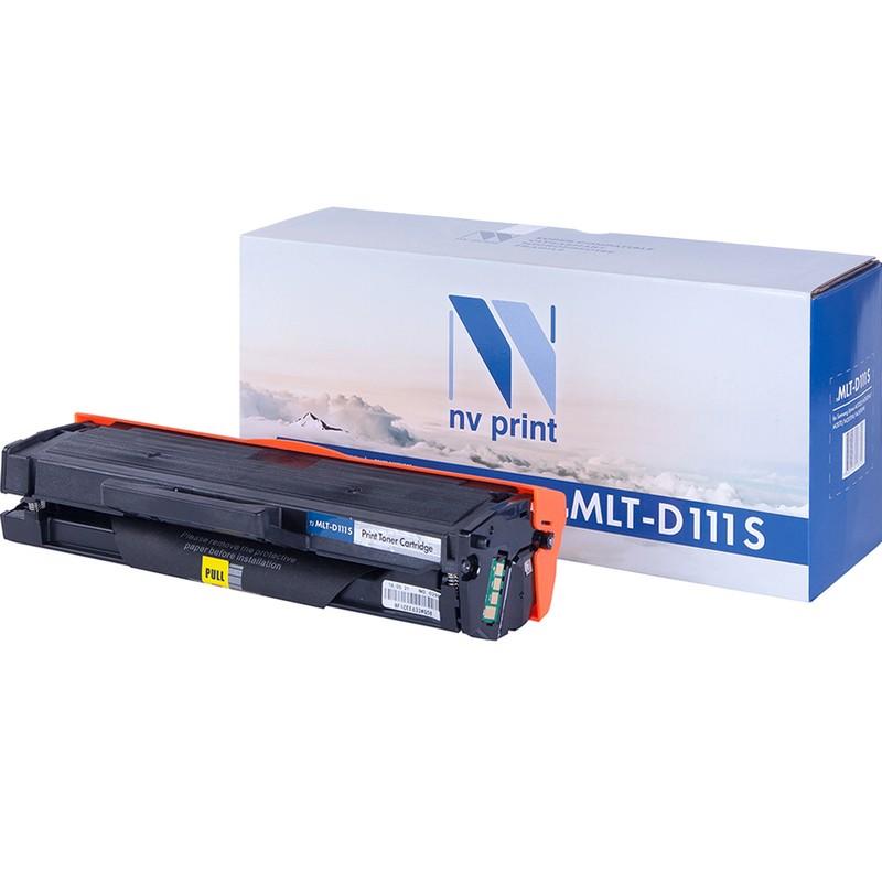 Картридж NVP совместимый NV-MLT-D111S для Samsung Xpress M2020   M2020W   M2070   M2070W   M2070FW Черный (Black) 1000стр.