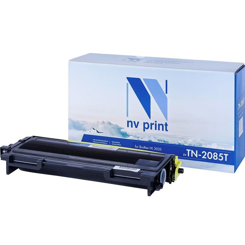 Картридж NVP совместимый NV-TN-2085T для Brother HL-2035R Черный (Black) 1500стр.