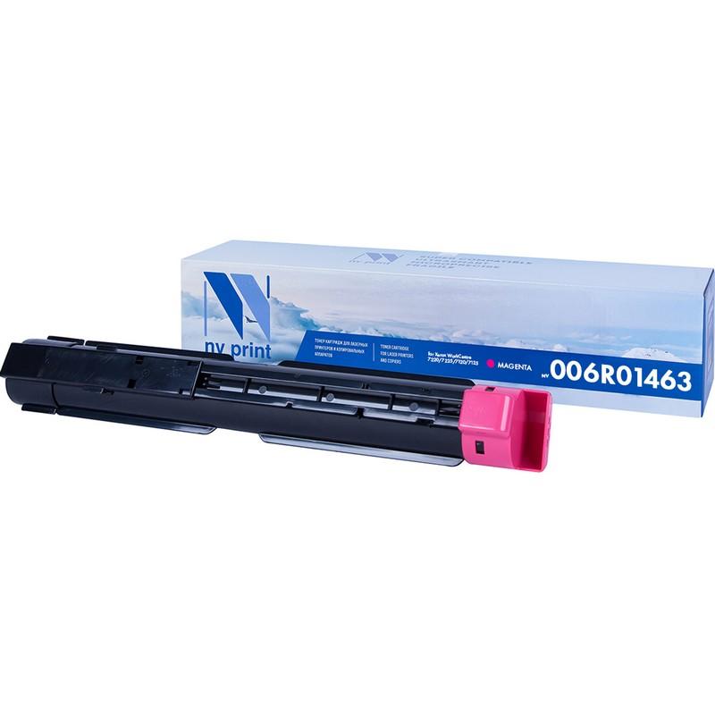 Картридж NVP совместимый NV-006R01463 Magenta для Xerox WorkCentre 7220   7225   7120   7125 Пурпурный (Magenta) 15000стр.