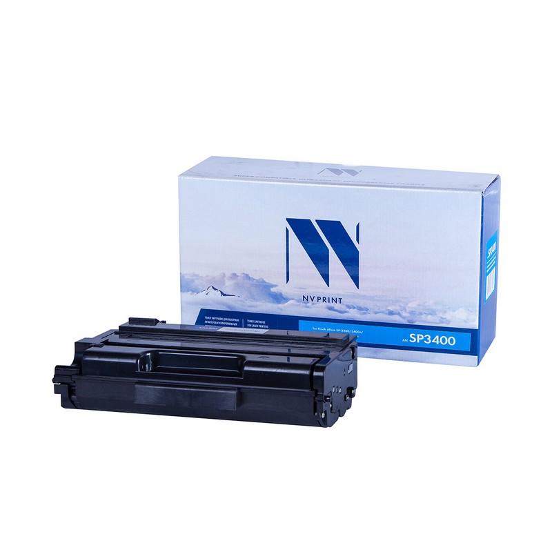 Картридж NVP совместимый NV-SP3400 для Ricoh Aficio SP-3400 | 3400n | 3400sf | 3410 | 3410dn | 3410sf Черный (Black) 5000стр.