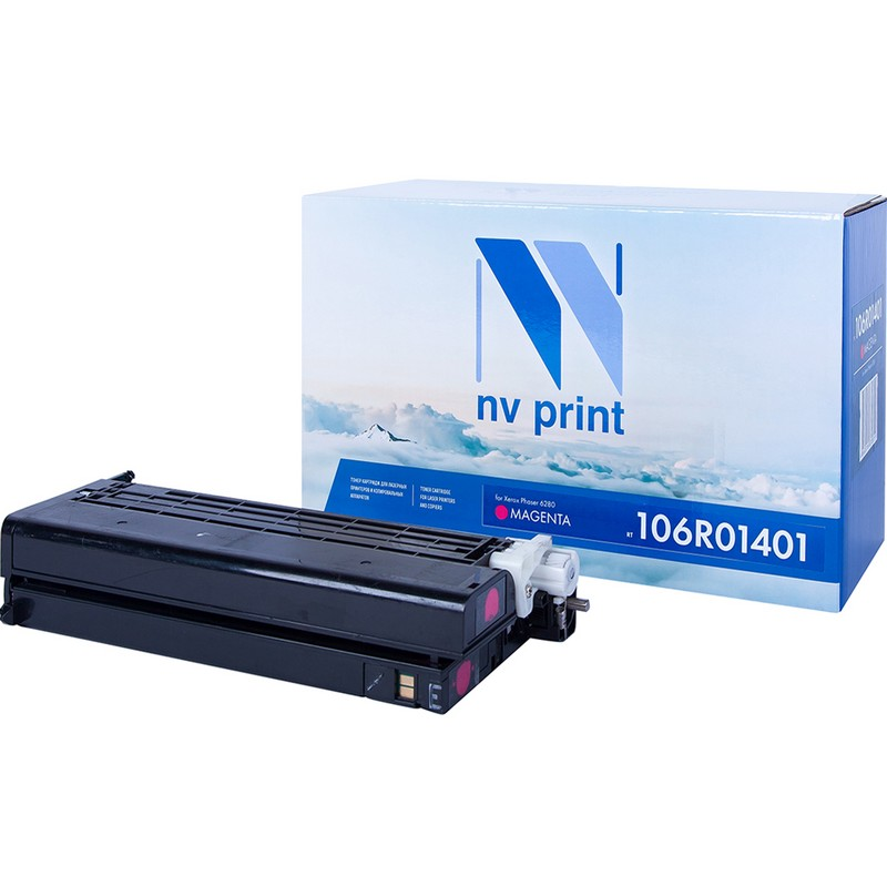 Картридж NVP совместимый NV-106R01401 Magenta для Xerox Phaser 6280 Пурпурный (Magenta) 5900стр.