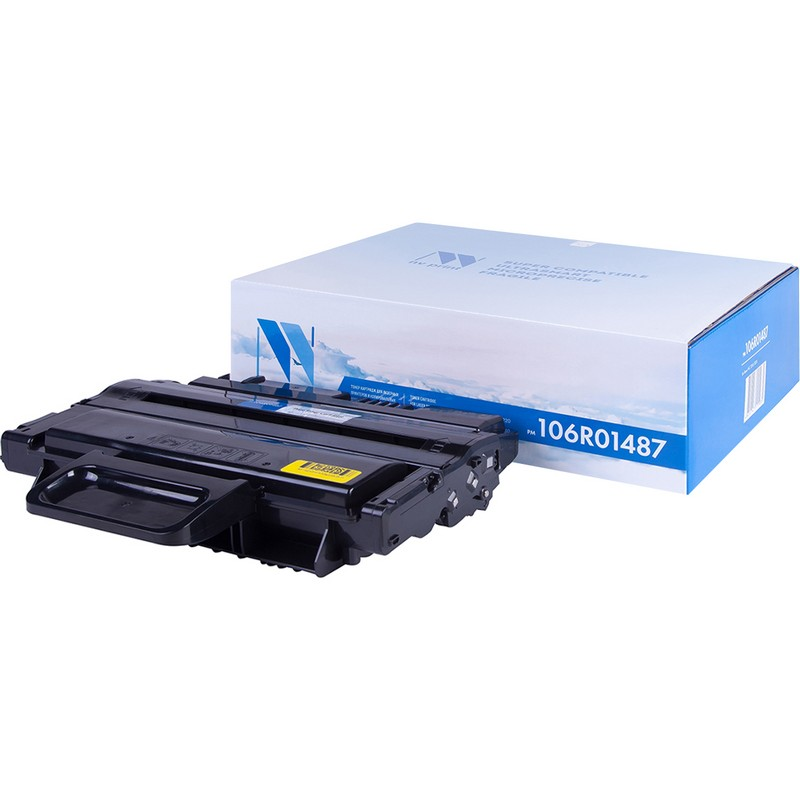 Картридж NVP совместимый NV-106R01487 для Xerox WorkCentre 3210 | 3220 Черный (Black) 4100стр.