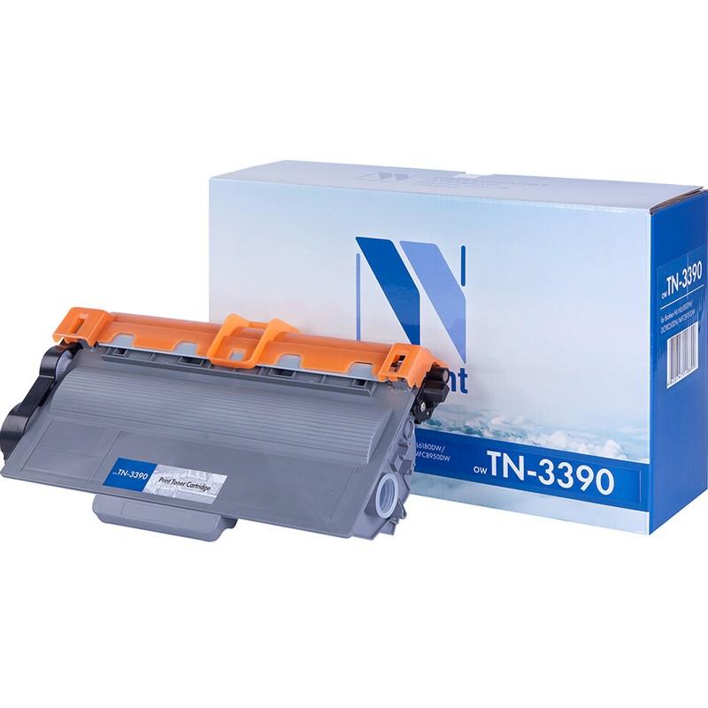 Картридж NVP совместимый NV-TN-3390 для Brother HL-6180DW | DCP-8250DN | MFC-8950DW Черный (Black) 12000стр.