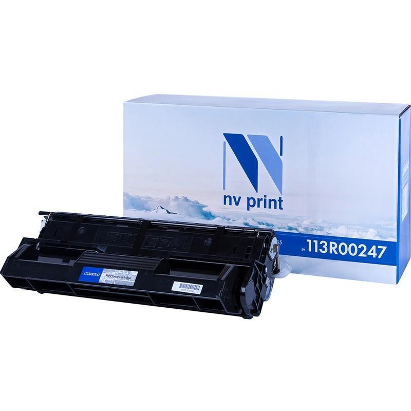Картридж NVP совместимый NV-113R00247 для Xerox DocuPrint 255 Черный (Black) 10000стр.