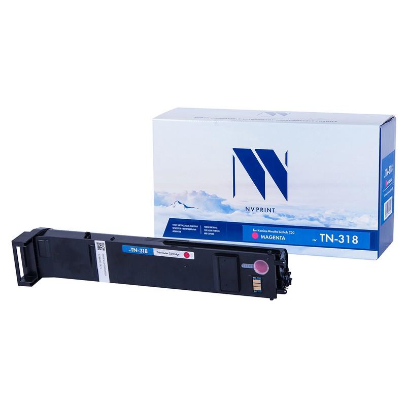 Тонер-картридж NVP совместимый NV-TN-318 Magenta для Konica Minolta bizhub C20 Пурпурный (Magenta) 8000стр.