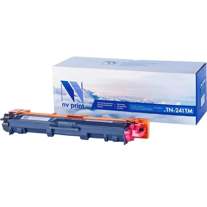 Картридж NVP совместимый NV-TN-241T Magenta для Brother HL-3140CW | 3150CDW | 3170CDW | DCP-9020CDW | MFC-9140CDN | 9330CDW | 9340CDW Пурпурный (Magenta) 1400стр.