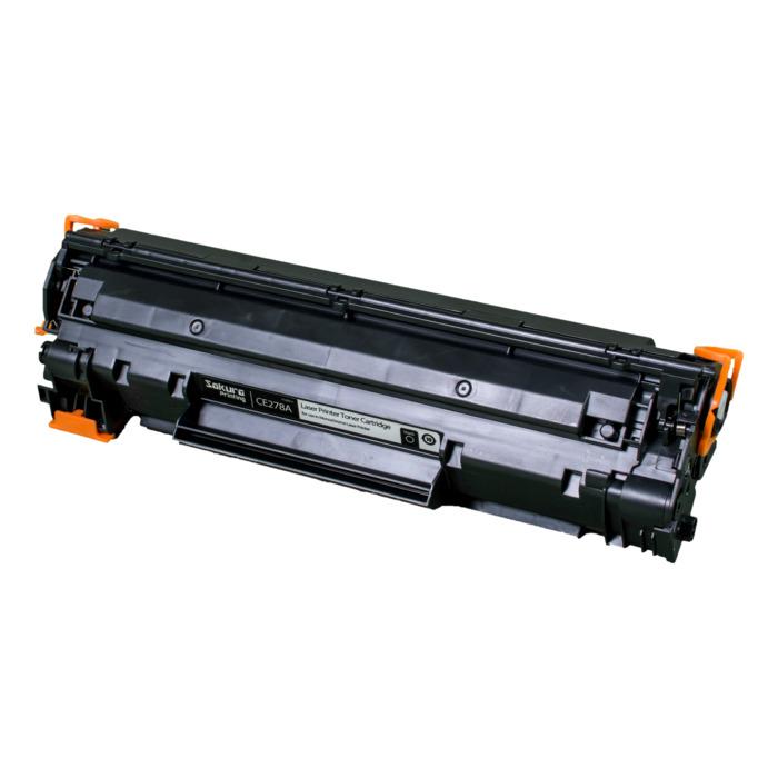 Картридж SAKURA CE278A для HP laser Pro P1560/1636/1566/1600/1606, черный, 2100 к. для Laser Pro P1560 / 1636 / 1566 / 1600 / 1606  2100стр.