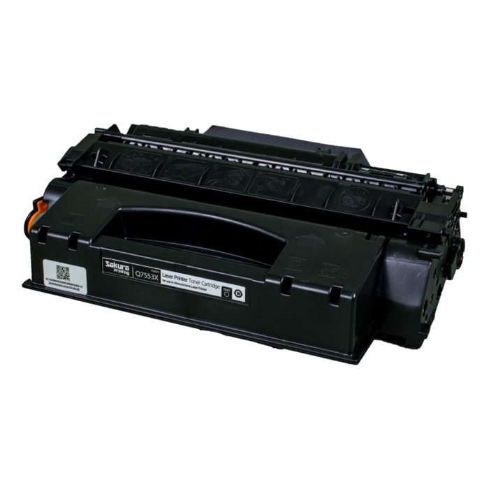 Картридж SAKURA Q7553X  для HP LJ P2014/P2015/M2727 mfp, черный, 6000 к. для LJ P2014 / P2015 / M2727 mfp Черный (Black) 6000стр.
