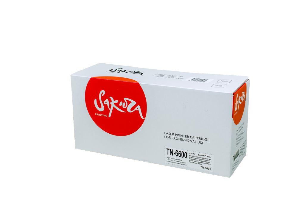 TN6600 Картридж SAKURA для Brother для HL-1030 / 1230 / 1240 / 1250 / 1270 / 1435 / 1440 / 1450 / 1470N MFC-P2500 / 8300 / 8500 / 8600 / 8700 / 9600 / 9700 / 9800 DCP-1200 / 1400 FAX-4100 / 4750 / 5750 / 5750 MFCP2500  6000стр.