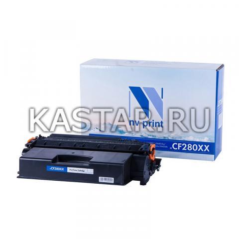 Картридж NVP совместимый NV-CF280XX для HP LaserJet Pro M401d | M401dn | M401dw | M401a | M401dne | MFP-M425dw | M425dn Черный (Black) 10000стр.