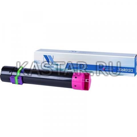 Картридж NVP совместимый NV-106R01512 Magenta для Xerox Phaser 6700 Пурпурный (Magenta) 5000стр.