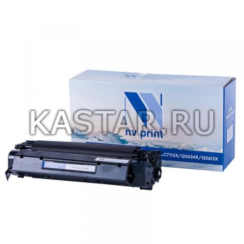 Картридж NVP совместимый NV-C7115X | 2624X | 2613X для HP LaserJet 1000w | 1005w | 1200 | 1200n | 1220 | 3330mfp | 3380 | 1150 | 1150n | 1300 | 1300n Черный (Black) 3500стр.