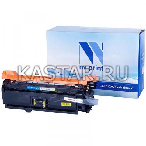 Картридж NVP совместимый NV-CE252A | NV-723 Yellow для HP LaserJet Color CP3525 | CP3525dn | CP3525n | CP3525x | CM3530 | CM3530fs | Canon i-SENSYS LBP7750Cdn Желтый (Yellow) 7000стр.