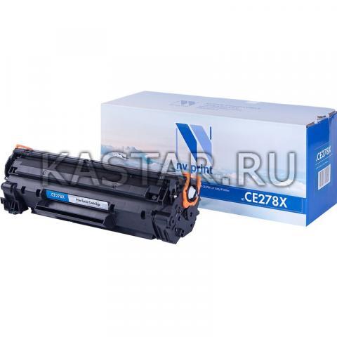 Картридж NVP совместимый NV-CE278X для HP LaserJet Pro M1536dnf | Р1566 | Р1606W Черный (Black) 2300стр.