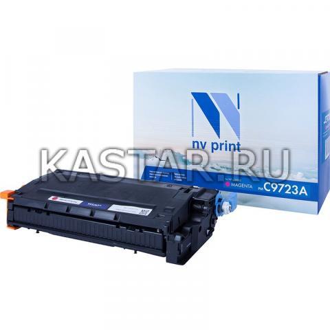 Картридж NVP совместимый NV-C9723A Magenta для HP LaserJet Color 4600 | 4600dtn | 4600hdn | 4600n | 4650 | 4650n | 4650dn | 4650dtn | 4650hdn | 4600dn Пурпурный (Magenta) 8000стр.
