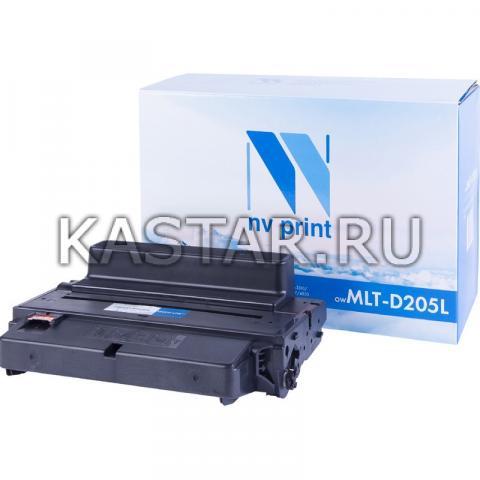 Картридж NVP совместимый NV-MLT-D205L для Samsung ML-3310 | 3710 | SCX-5637 | 4833 Черный (Black) 5000стр.