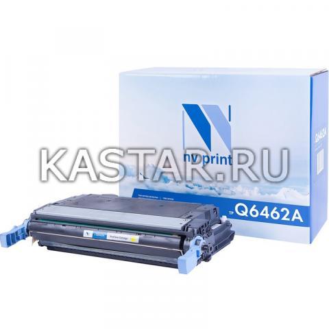 Картридж NVP совместимый NV-Q6462A Yellow для HP LaserJet Color 4730 | MFP-4730x | 4730xm | 4730xs | CM4730 | CM4730f | CM4730fm | CM4730fsk Желтый (Yellow) 12000стр.