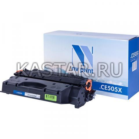 Картридж NVP совместимый NV-CE505X для HP LaserJet P2055 | 2055d | 2055dn Черный (Black) 6500стр.