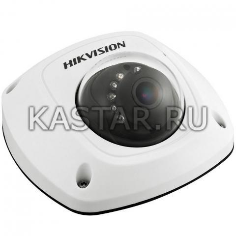 Вандалозащищенная IP-камера для транспорта Hikvision DS-2XM6112FWD-I