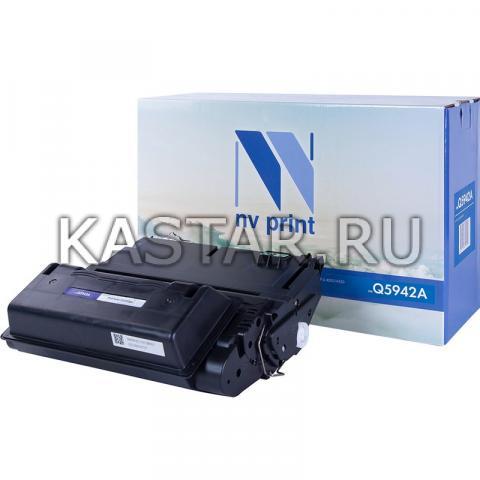 Картридж NVP совместимый NV-Q5942A для HP LaserJet 4250 | 4250dtn | 4250dtnsl | 4250n | 4250tn | 4350 | 4350dtn | 4350dtnsl | 4350n | 4350tn Черный (Black) 10000стр.