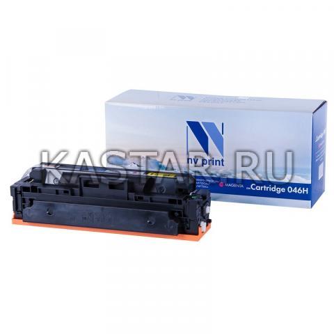 Картридж NVP совместимый NV-046H Magenta для Canon  i-SENSYS LBP653Cdw | LBP654Cx | MF732Cdw | MF734Cdw | MF735Cx Пурпурный (Magenta) 5000стр.