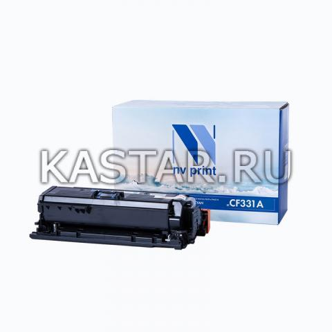 Картридж NVP совместимый NV-CF331A Cyan для HP LaserJet Color M651dn   M651n   M651xh Голубой (Cyan) 15000стр.