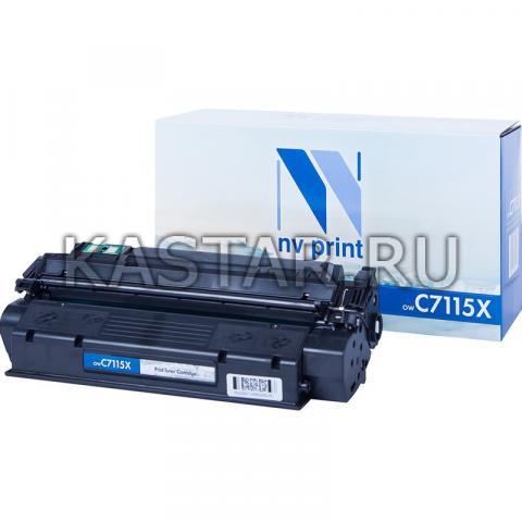 Картридж NVP совместимый NV-C7115X для HP LaserJet 1000w | 1005w | 1200 | 1200n | 1220 | 3330mfp | 3380 Черный (Black) 3500стр.