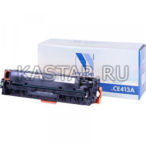 Картридж NVP совместимый NV-CE413A Magenta для HP LaserJet Color M351a | M375nw | M451dn | M451dw | M451nw | M475dn | M475dw Пурпурный (Magenta) 2600стр.