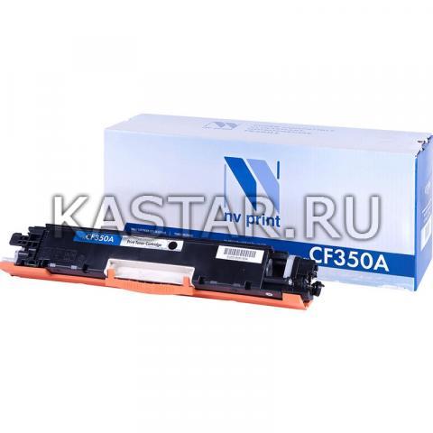 Картридж NVP совместимый NV-CF350A Black для HP LaserJet Color Pro M176n   M177fw Черный (Black) 1300стр.