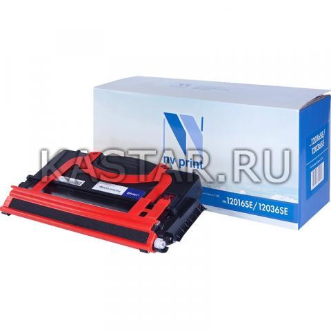 Картридж NVP совместимый NV-12016SE | 12036SE для Lexmark Optra E120 | E120n Черный (Black) 2000стр.