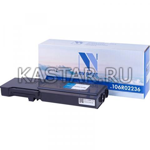 Картридж NVP совместимый NV-106R02236 Black для Xerox Phaser 6600 | WorkCentre 6605 Черный (Black) 8000стр.