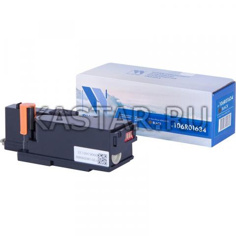 Картридж NVP совместимый NV-106R01634 Black для Xerox Phaser 6000 | 6010 | WorkCentre 6015 Черный (Black) 2000стр.