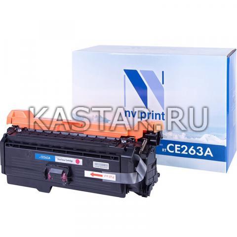 Картридж NVP совместимый NV-CE263A Magenta для HP LaserJet Color CP4025n | CP4025dn | CP4525n | CP4525dn | CP4525xn Пурпурный (Magenta) 11000стр.