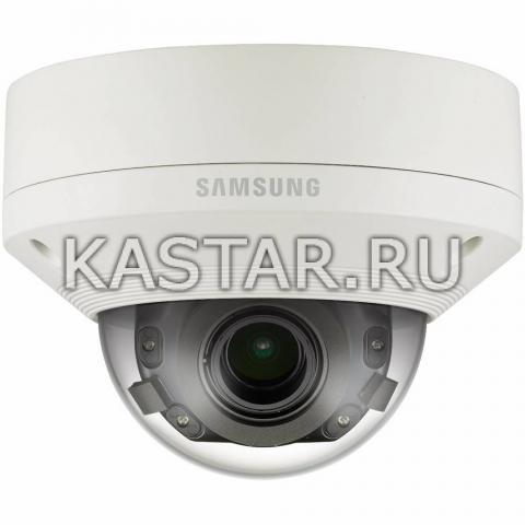 Вандалостойкая 5Мп камера Wisenet Samsung SNV-8080P с 2.8 zoom и WDR 120 дБ