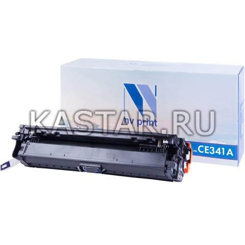 Картридж NVP совместимый NV-CE341A Cyan для HP LaserJet Color Enterprise 700 M775dn | M775f | M775z | M775z+ Голубой (Cyan) 16000стр.