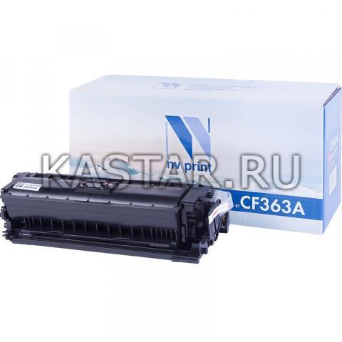 Картридж NVP совместимый NV-CF363A Magenta для HP LaserJet Color M552dn | M553dn | M553n | M553x | M577dn | M577f | M577c Пурпурный (Magenta) 5000стр.