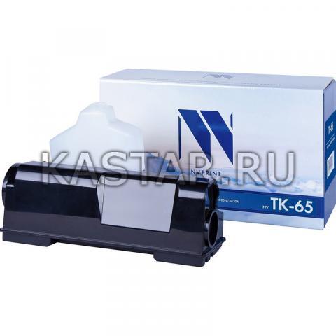 Картридж NVP совместимый NV-TK-65 для Kyocera  FS-3800 | 3820N | 3830N Черный (Black) 20000стр.