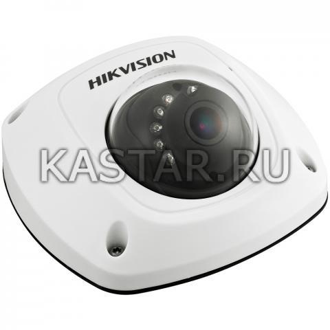 Вандалостойкий 4 Мп IP-миникупол Hikvision DS-2CD2542FWD-IS с ИК-подсветкой