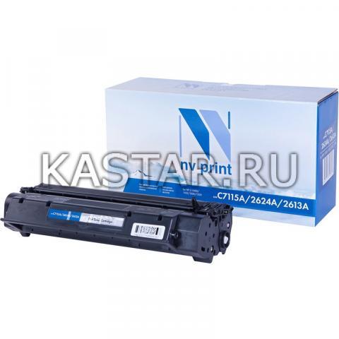 Картридж NVP совместимый NV-C7115A | Q2624A | Q2613A для HP LaserJet 1000w | 1005w | 1200 | 1200n | 1220 | 3330mfp | 3380 | 1150 | 1150n | 1300 | 1300n Черный (Black) 2500стр.