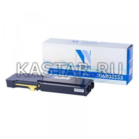 Картридж NVP совместимый NV-106R03533 Yellow для Xerox  VersaLink C400 | C405 Желтый (Yellow) 8000стр.