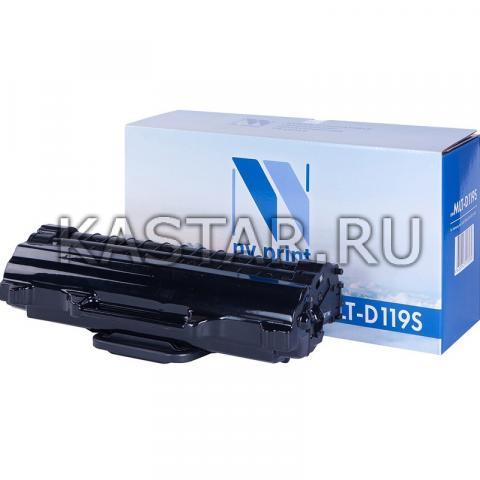 Картридж NVP совместимый NV-MLT-D119S для Samsung ML-1610 | 2010 | SCX-4321 | 4521 Черный (Black) 2000стр.