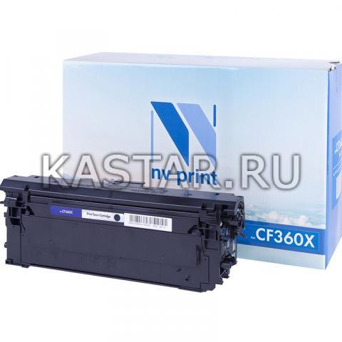 Картридж NVP совместимый NV-CF360X Black для HP LaserJet Color M552dn | M553dn | M553n | M553x | MFP-M577dn | M577f | Flow M577c Черный (Black) 12500стр.