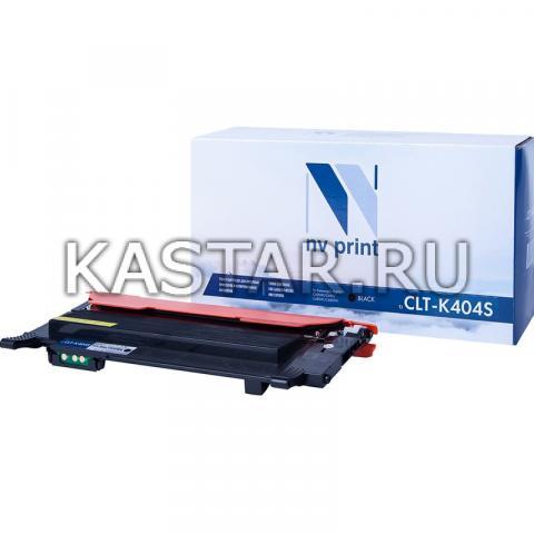 Картридж NVP совместимый NV-CLT-K404S Black для Samsung SL-C430   C430W   C480   C480W   C480FW Черный (Black) 1500стр.